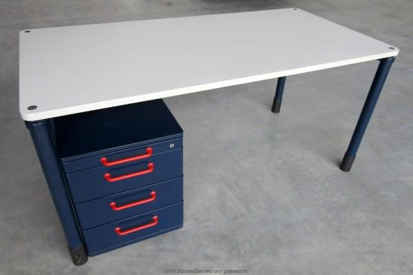Werndl - Schreibtisch 120 cm, grau