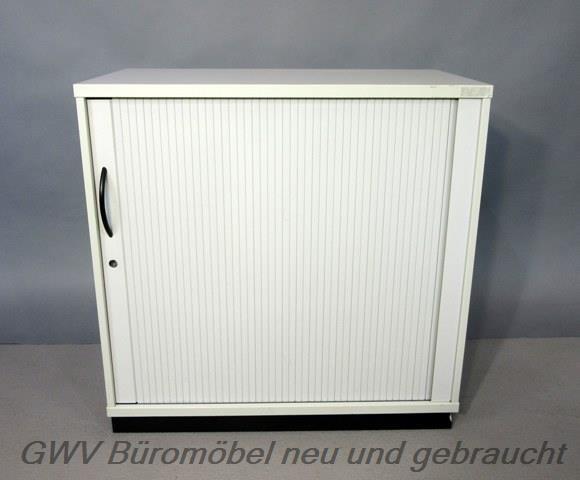 RTR - Querrolloschrank 2 OH, B 80 cm grau