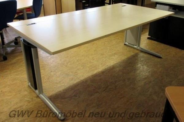 Werndl - Steh- Sitz- Schreibtisch 200 cm, ahorn