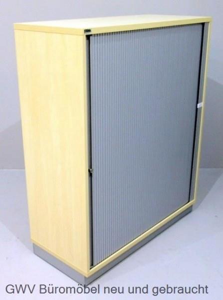CEKA - Querrolloschrank 3 OH, B 100 cm ahorn