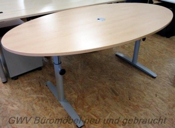 CEKA - Besprechungstisch oval 200 cm, buche