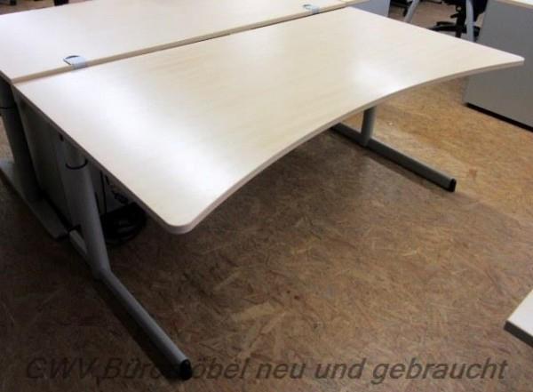 Steelcase - Ergo- Schreibtisch 180 cm, ahorn
