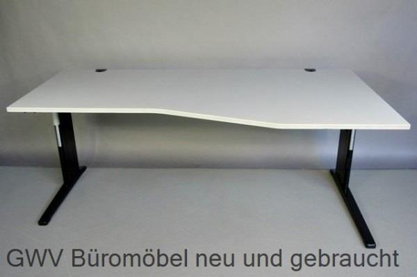 RTR - Freiform- Schreibtisch 200 cm, Rechts