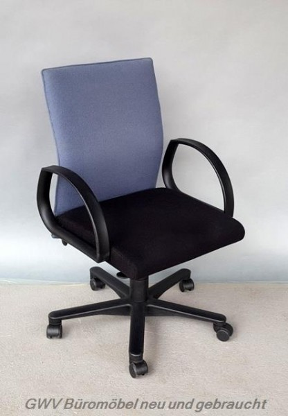 Klöber - Bürodrehstuhl schwarz/ grau