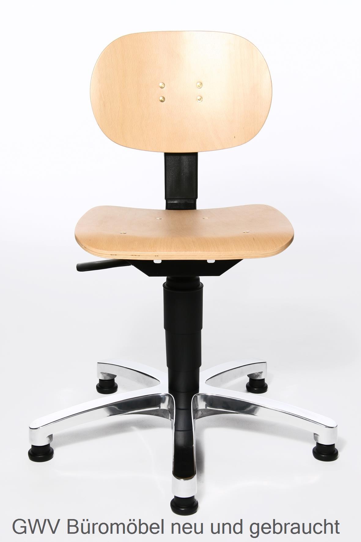 arbeits drehstuhl holz arbeitshocker neu b rostuhl neu gwv b rom bel gebraucht sofort. Black Bedroom Furniture Sets. Home Design Ideas