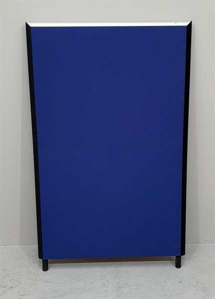 Stellwand / Trennwand B 80 x H 130 cm, blau