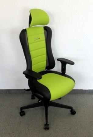 Bürodrehstuhl - Sitness Racer RS, schwarz/ grün