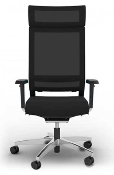 "Bürodrehstuhl ""Net Medic 9"" mit AL, grün/ weiß"