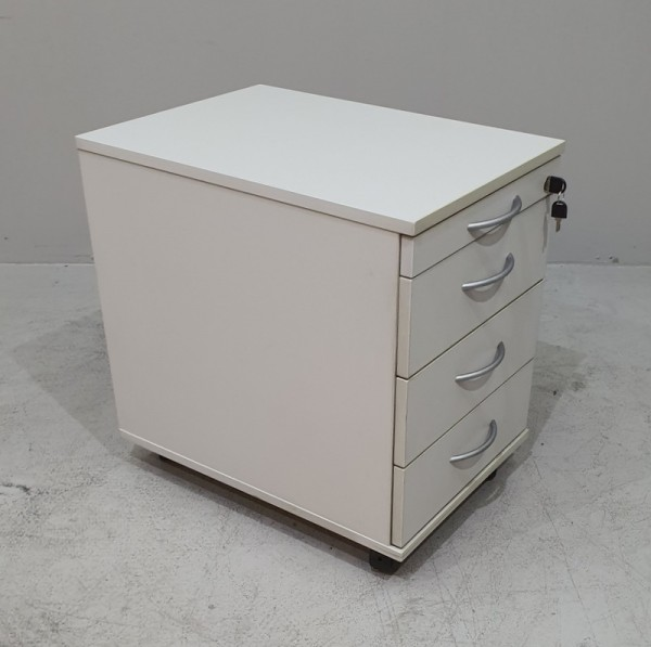 BW - Rollcontainer T 60 cm, grau