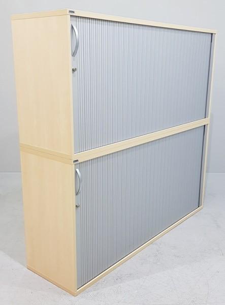 CEKA - Querrolloschrank 4 OH, B 160 cm, ahorn