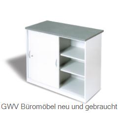 Büromöbel schrank  Verkaufstheken Schrank lichtgrau breite 120 cm | GWV Büromöbel ...