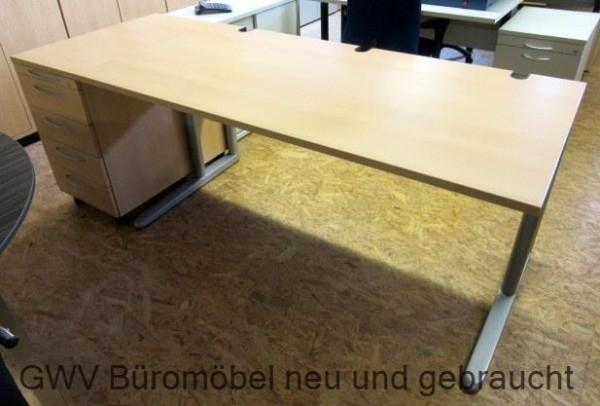 K & N - Schreibtisch + Standcontainer
