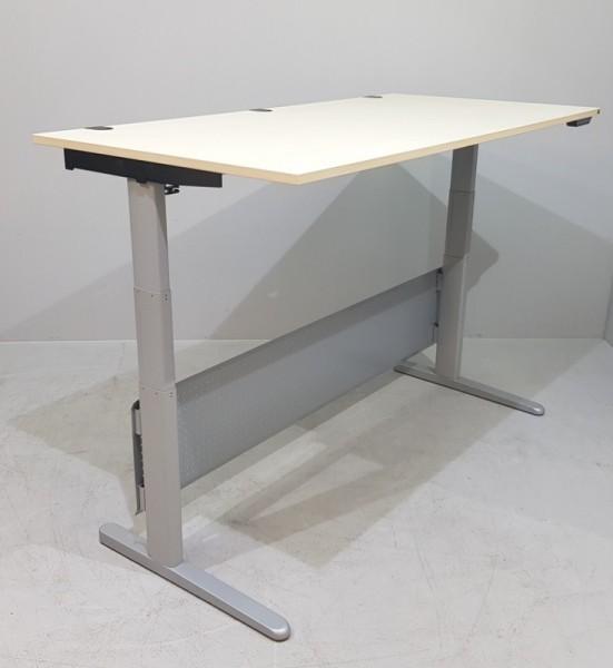 K & N - Steh- Sitz- Schreibtisch 180 cm, ahorn