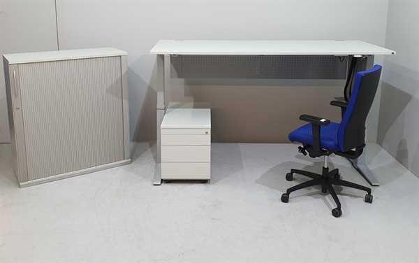 K & N - SET Tisch + Sideboard + Container + Stuhl