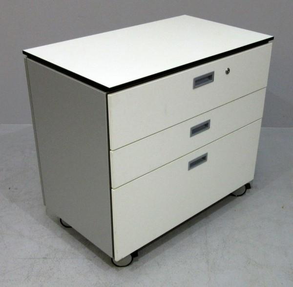 K & N -HR-/Schubladen Sideb. B 80 cm, weiß