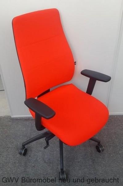 Bürodrehstuhl - Syncro Soft, rot