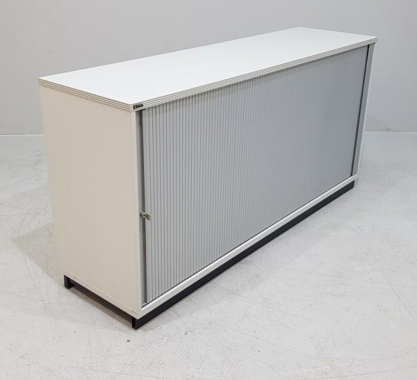 CEKA - Querrolloschrank 2 OH, B 160 cm grau