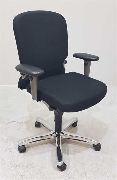Comforto - Bürodrehstuhl schwarz m. Memoryschaum