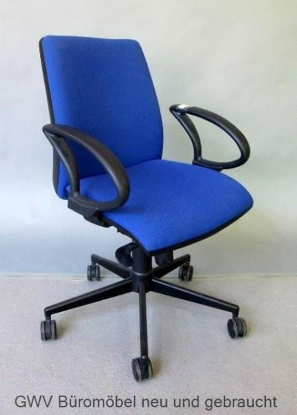Bürodrehstuhl blau