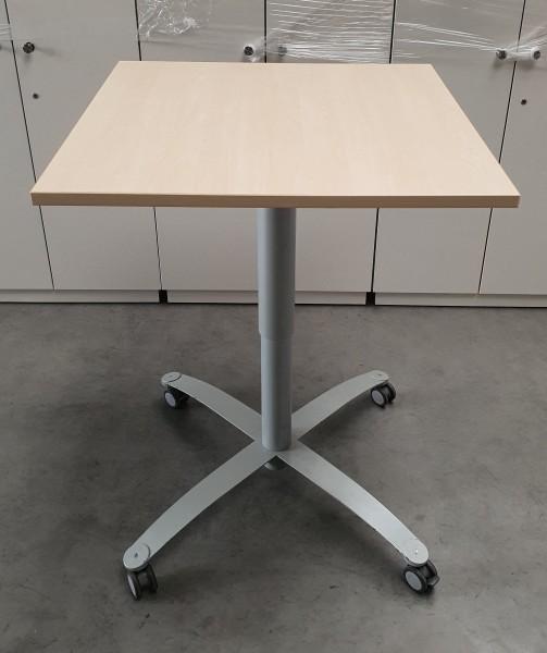 CEKA - Steh-Sitz- Besprechungstisch B 80 cm ahorn