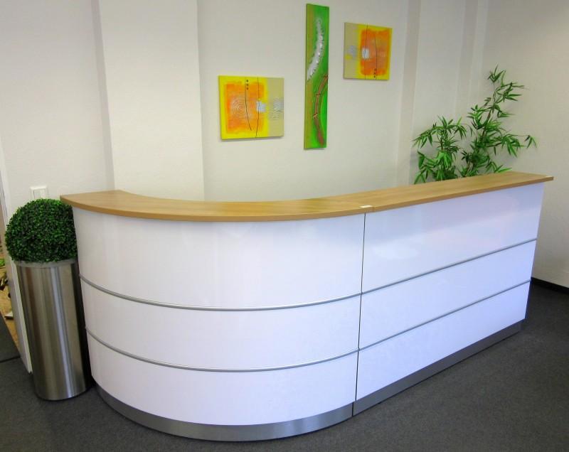 Empfang - Theken | GWV Büromöbel gebraucht - sofort lieferbar