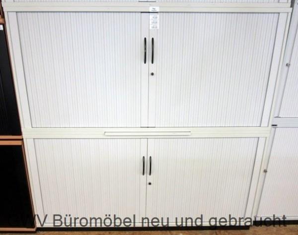 RTR - Querrolloschrank 4 OH, B 160 cm grau