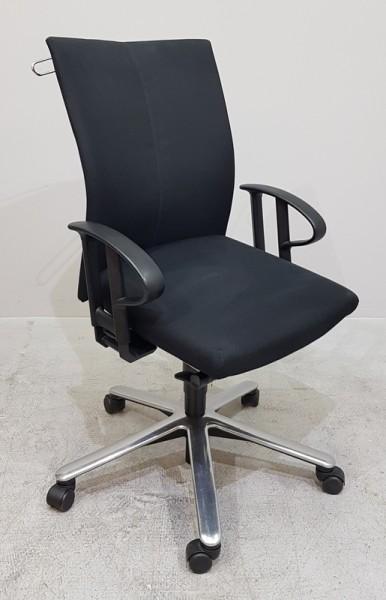 Klöber - Bürodrehstuhl schwarz