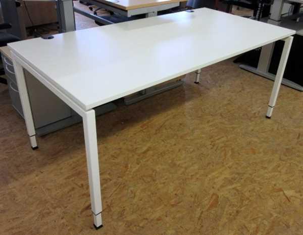 Febrü - Schreibtisch/Trento 160 x 80 cm, weiß