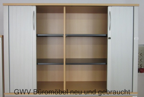 Aktenschrank Sideboard Buro Offic Stauraum Jalousieschrank