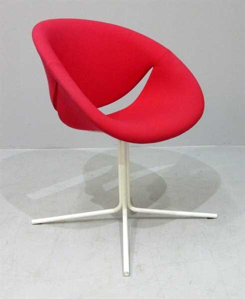 Besucherstuhl - Sessel maxdesign rot