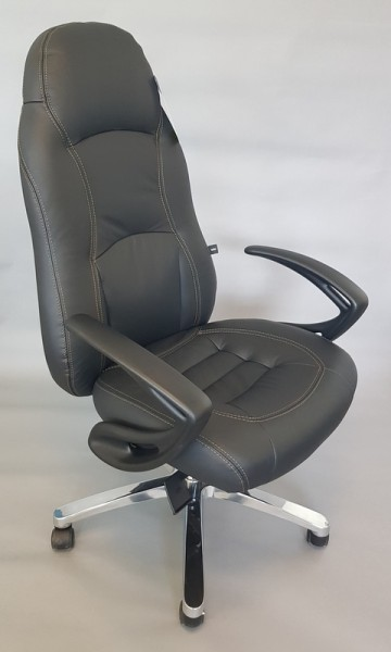Chefsessel - RS 1, Leder schwarz