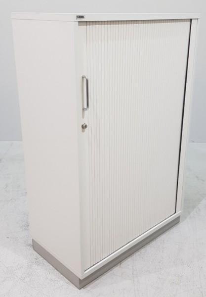 CEKA - Querrolloschrank 3 OH, B 100 cm lichtgrau