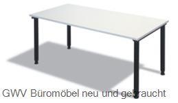 Schreibtisch 80 x 80 cm grau, HV