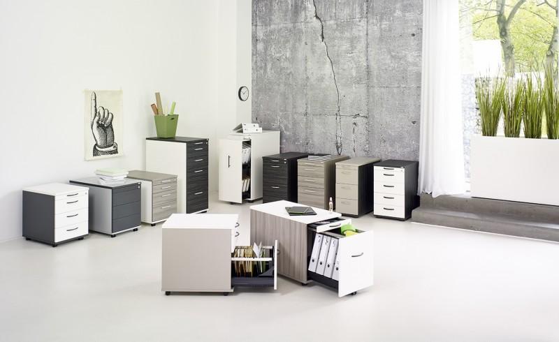 Febrü - Sonderposten | GWV Büromöbel gebraucht - sofort lieferbar