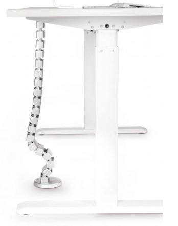 Kabels Schlange für Steh-Sitz-Tisch silber