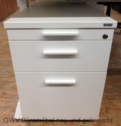 Febrü - Rollcontainer T 80 cm, weiß, HR | Büromöbel - 2. Wahl | GWV ...