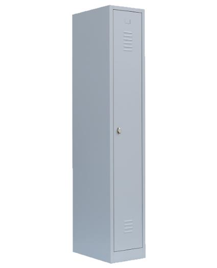 Stahl- Kleider- Schrank, 1- Abteil, B 30 cm lichtgrau