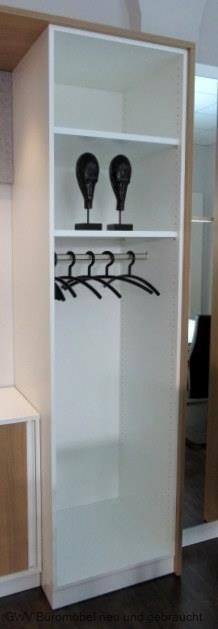 Febr garderobe b 60 cm wei febr sonderposten for Garderobe 60