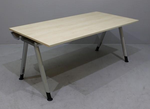 Haworth - Schreibtisch B 200 cm, wildbirne