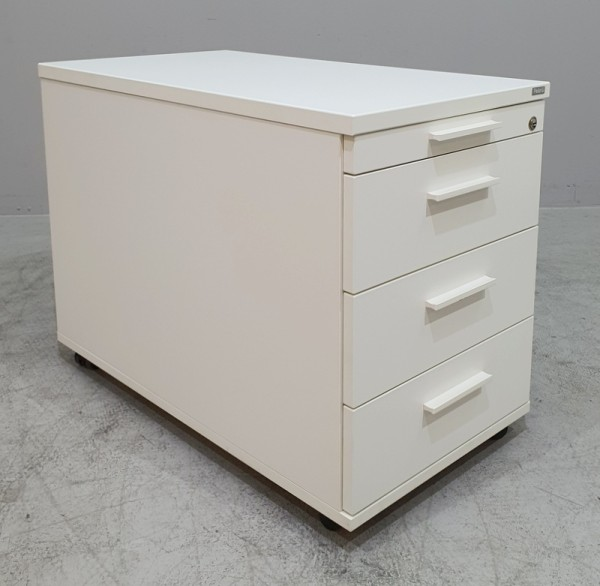 Febrü - Rollcontainer T 80 cm, weiß