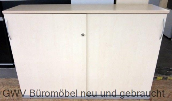 K & N - Schiebetürenschrank 3 OH, B 160 cm ahorn