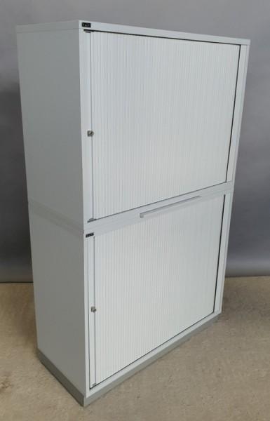 CEKA - Querrolloschrank 4 OH, B 100 cm grau