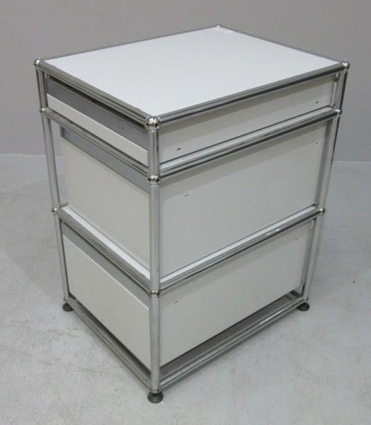 USM Haller - Container T 52 cm weiß/chrom