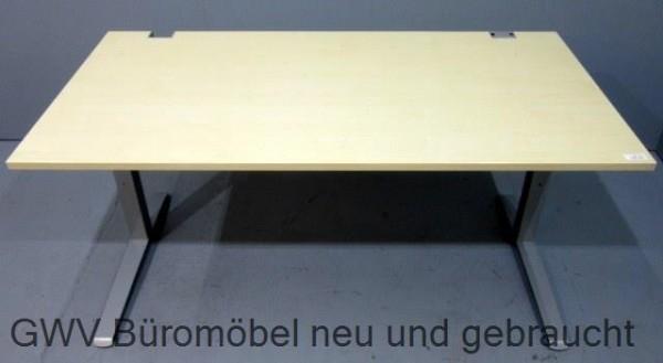 fm - Schreibtisch 160 x 80 cm, ahorn