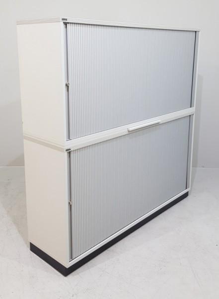 CEKA - Querrolloschrank 4 OH, B 160 cm grau