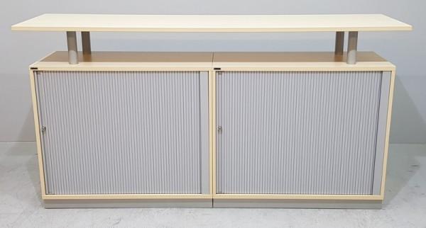 CEKA - Sideboard / Theke 3- teilig B 210 cm, ahorn