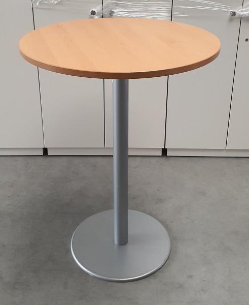 Steelcase - Bespr.-/Stehtisch D 80 cm, buche