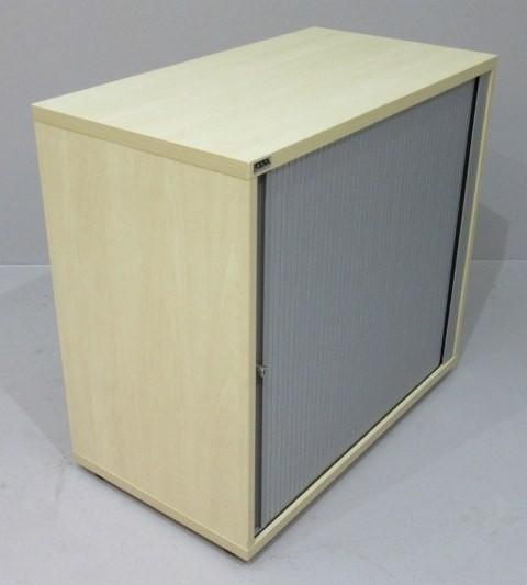 CEKA - Querrolloschrank 2 OH, B 80 cm ahorn Stellf