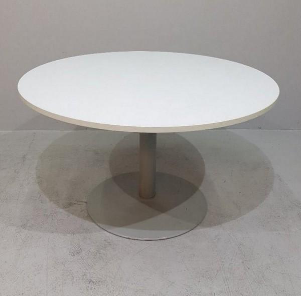 K & N - Besprechungstisch D 80 cm, weiß