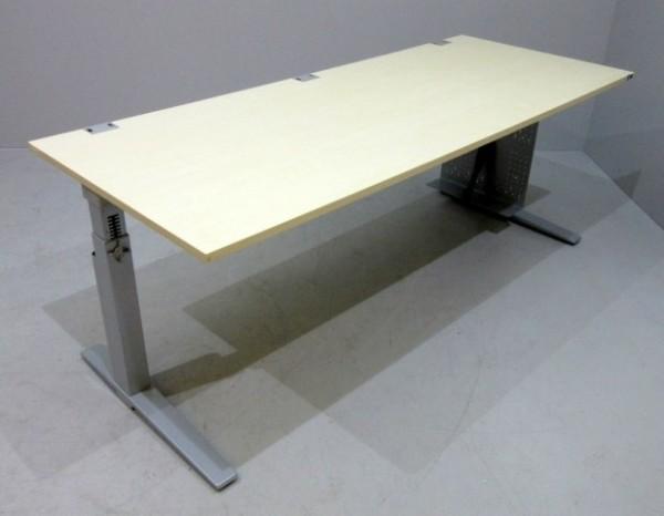 K & N - Schreibtisch 200 cm, ahorn